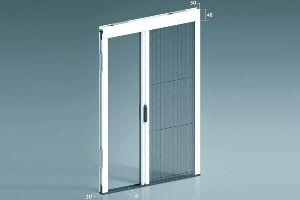 Rolós szúnyogháló ajtóra